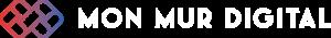 Logo Blanc Mon Mur Digital