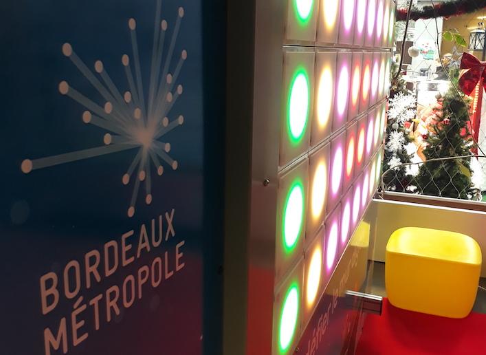 Mur digital Bordeaux Métropole